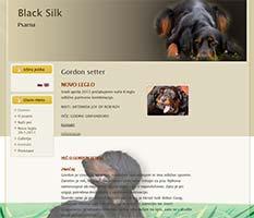 Psarna Black Silk