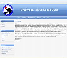 Društvo za reševalne pse Burja