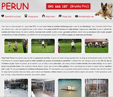Šola in hotel za pse Perun
