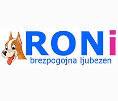 Hrana za pse Roni-brezpogojna ljubezen