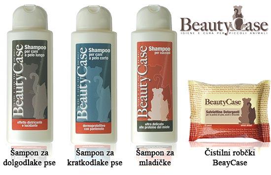 Šamponi in Čistilni robčki BeautyCase